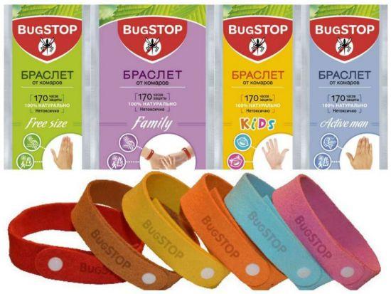 Браслеты от комаров Bugstop