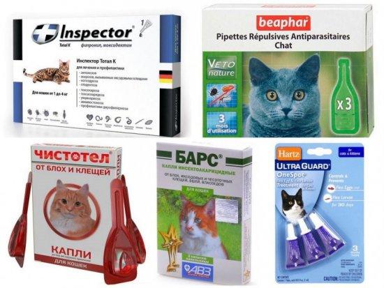 Средства для домашних животных от блох