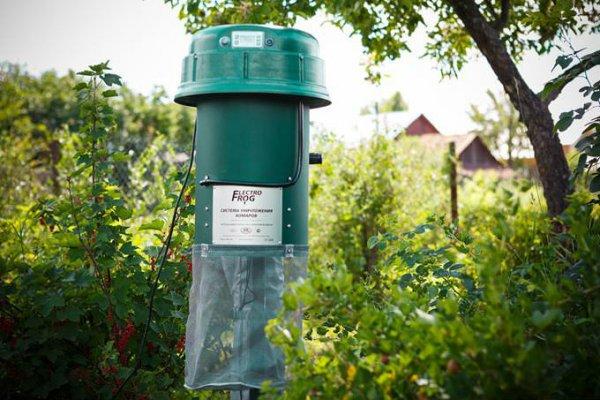 Электрические ловушки от комаров