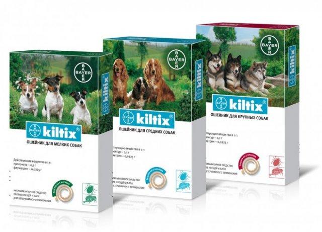 Ошейники для собак Килтикс