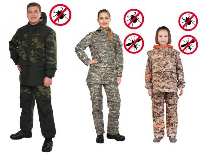 Противоклещевые костюмы