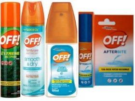 Средства Оff от комаров